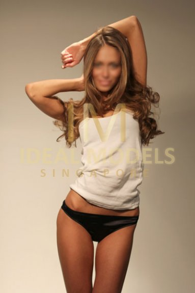 Singapore VIP escorts model Nina, elite travel companion